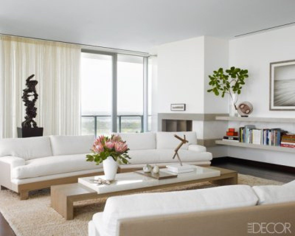 i like the bookshelf against the wall at left | Home Building ...