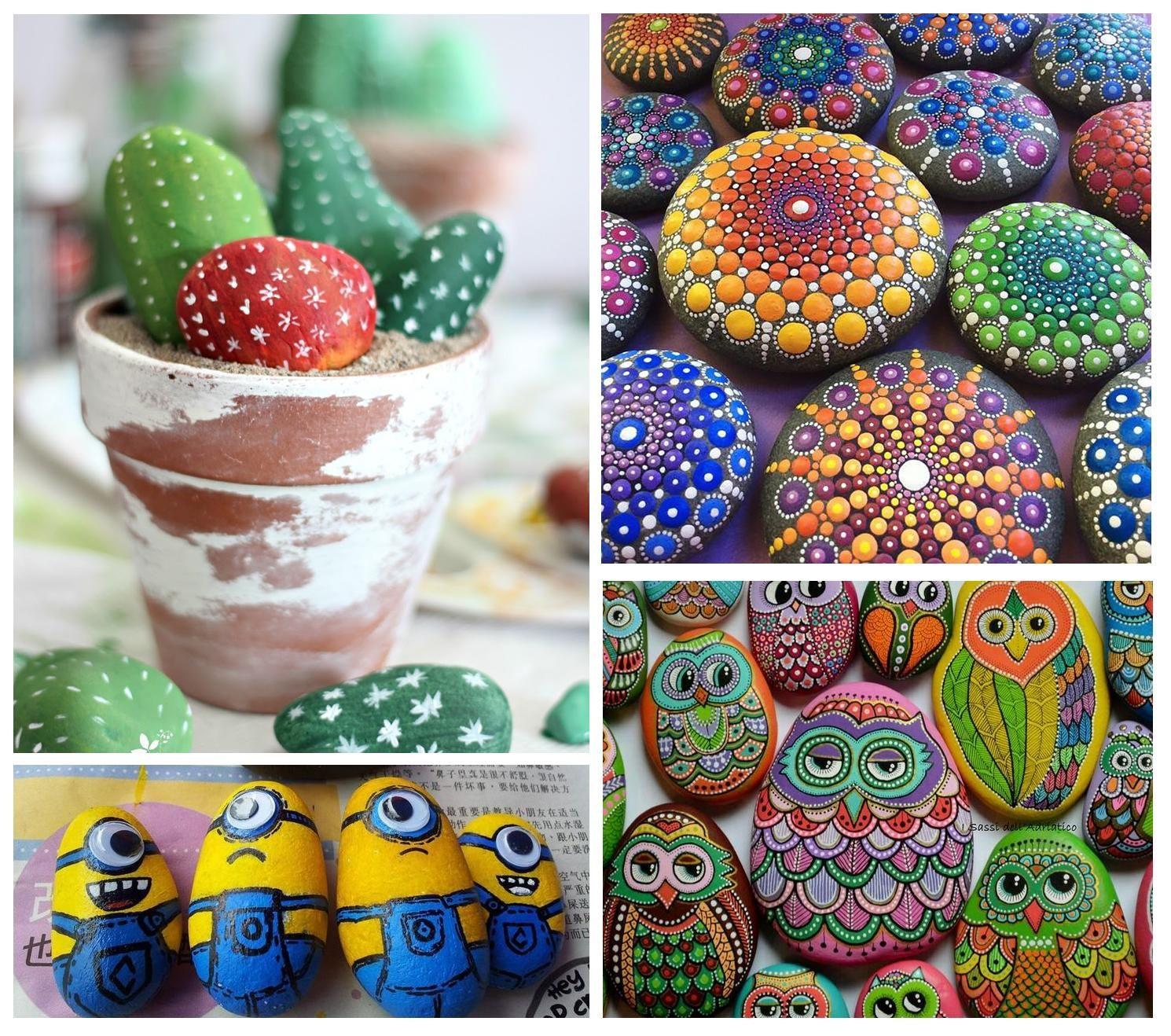 cmo decorar piedras con pintura quieres hacer creativas gastando muy poco