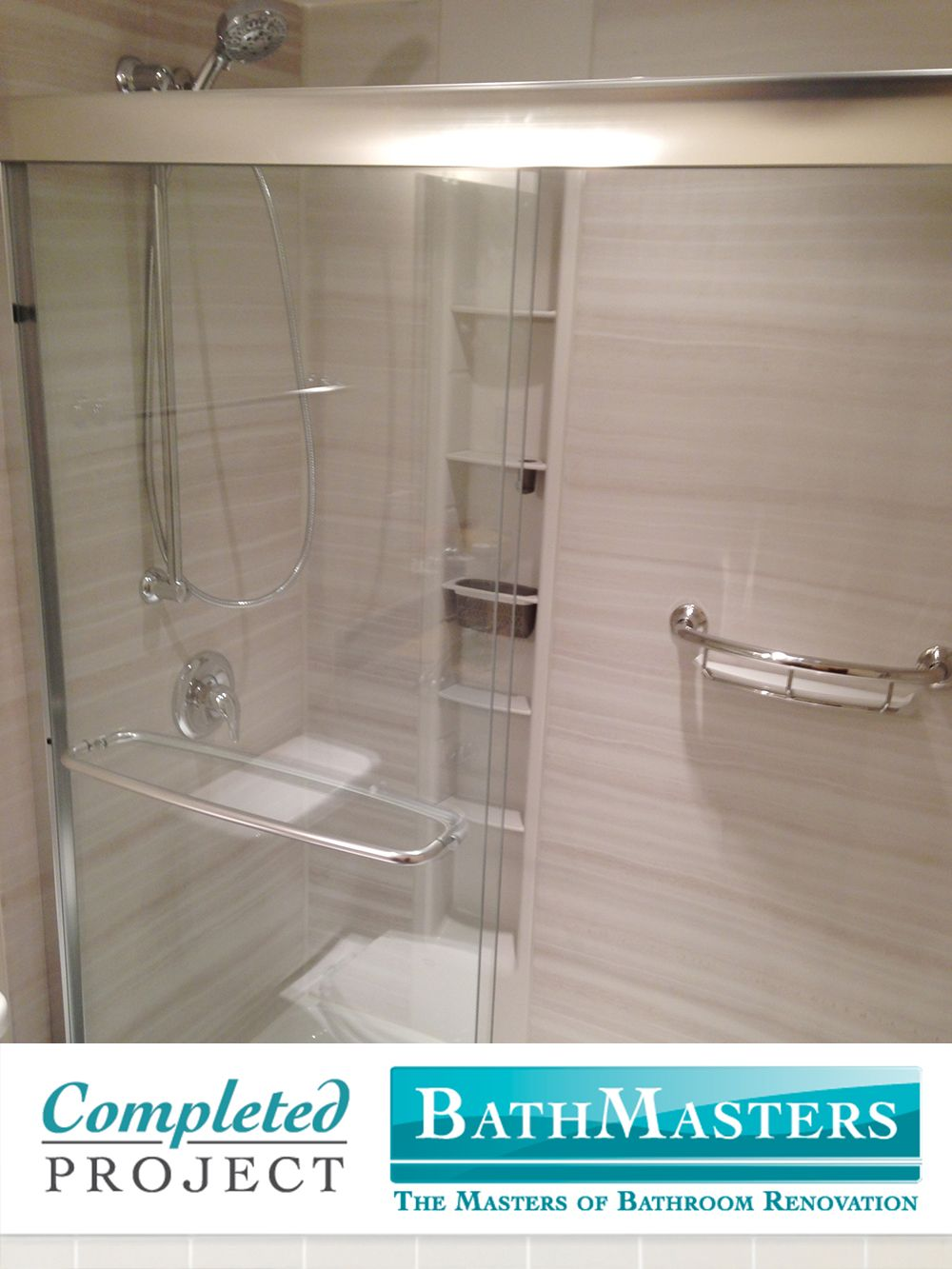This Shower Was Renovated With The Kohler Choreograph