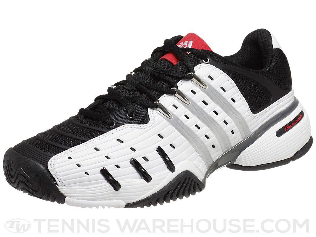 adidas Barricade V Classic WhiteBlack Mens Shoe