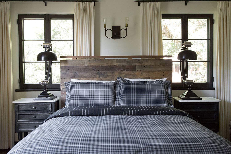 Thread Experiment Traditional English Plaid Comforter Set