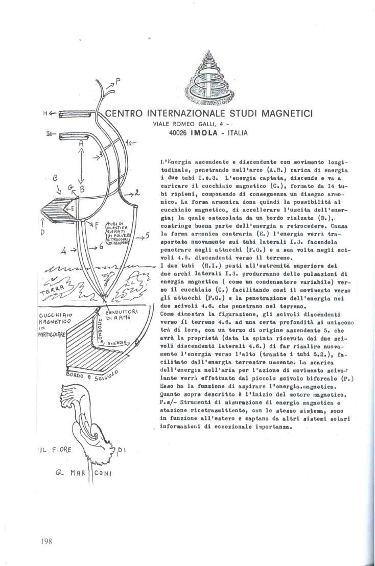 Pierluigi Ighina Fiore Di G Marconi Tesla Free Energy Free Energy Alternative World