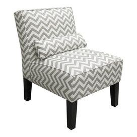 You Need These Gray And White Chevron Chairs, @Amy Silva!