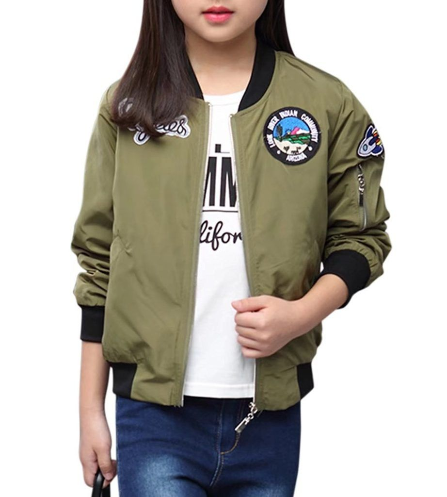 Binpaw Girl S Military Bomber Jacket Shop2online Best Woman S Fashion Products Designed To Provide Military Bomber Jacket Bomber Jacket Jackets [ 1024 x 922 Pixel ]