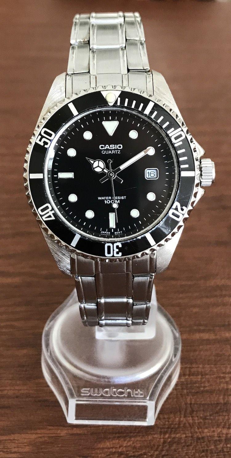 For Sale: Casio MTD-1010 Submariner Diver ...