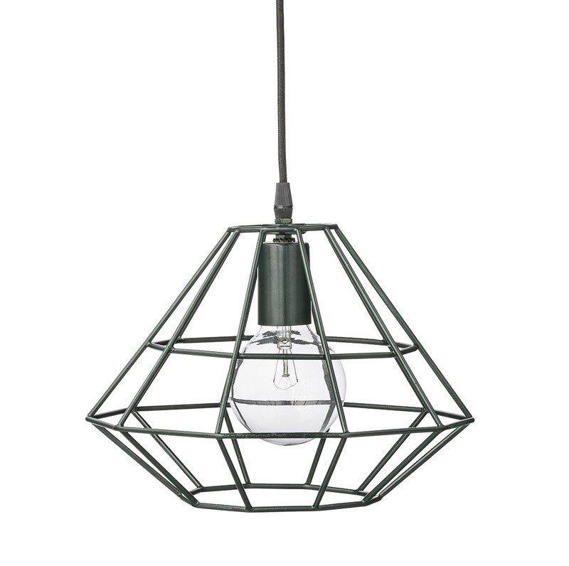 Modern Metal Iron Geometric Cage Ceiling Pendant Light Shade