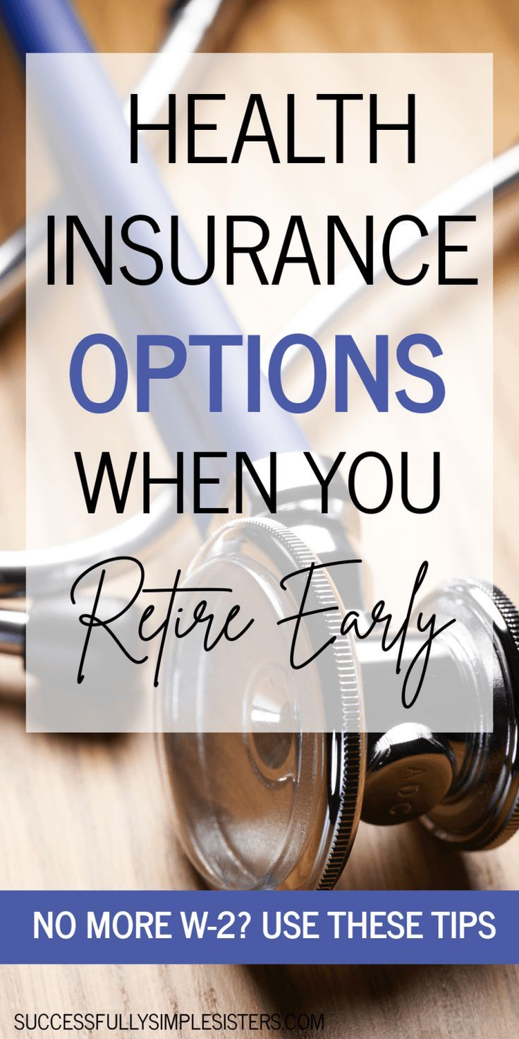 Health insurance options when you dont have a w2 job