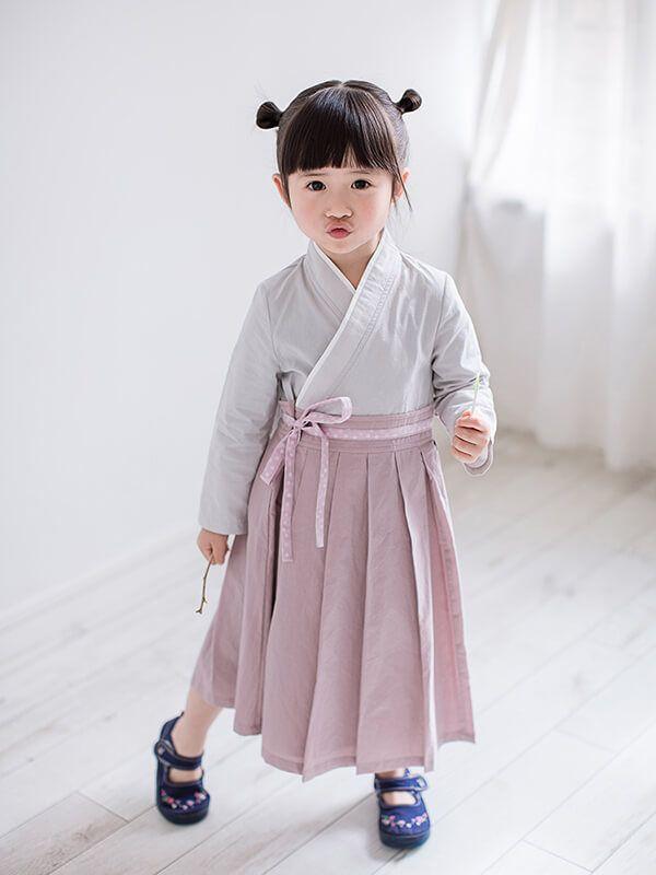 Han Fu One Piece Long Sleeve Dress Kids Outfits Kids Outfits Girls Kids Fashion
