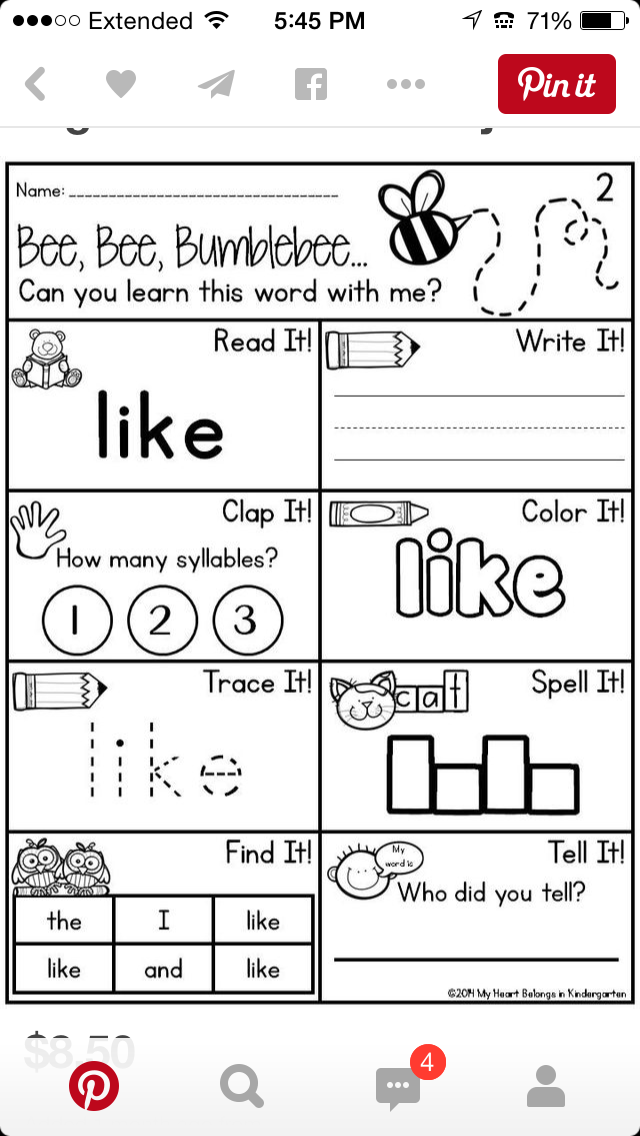 Pin von Jess Springer auf Kid education | Pinterest