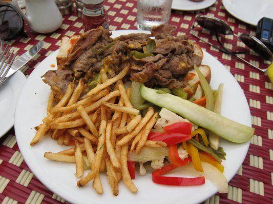 Chateau Marmont Restaurant Steak Sandwhich Sujan J Yelp Com