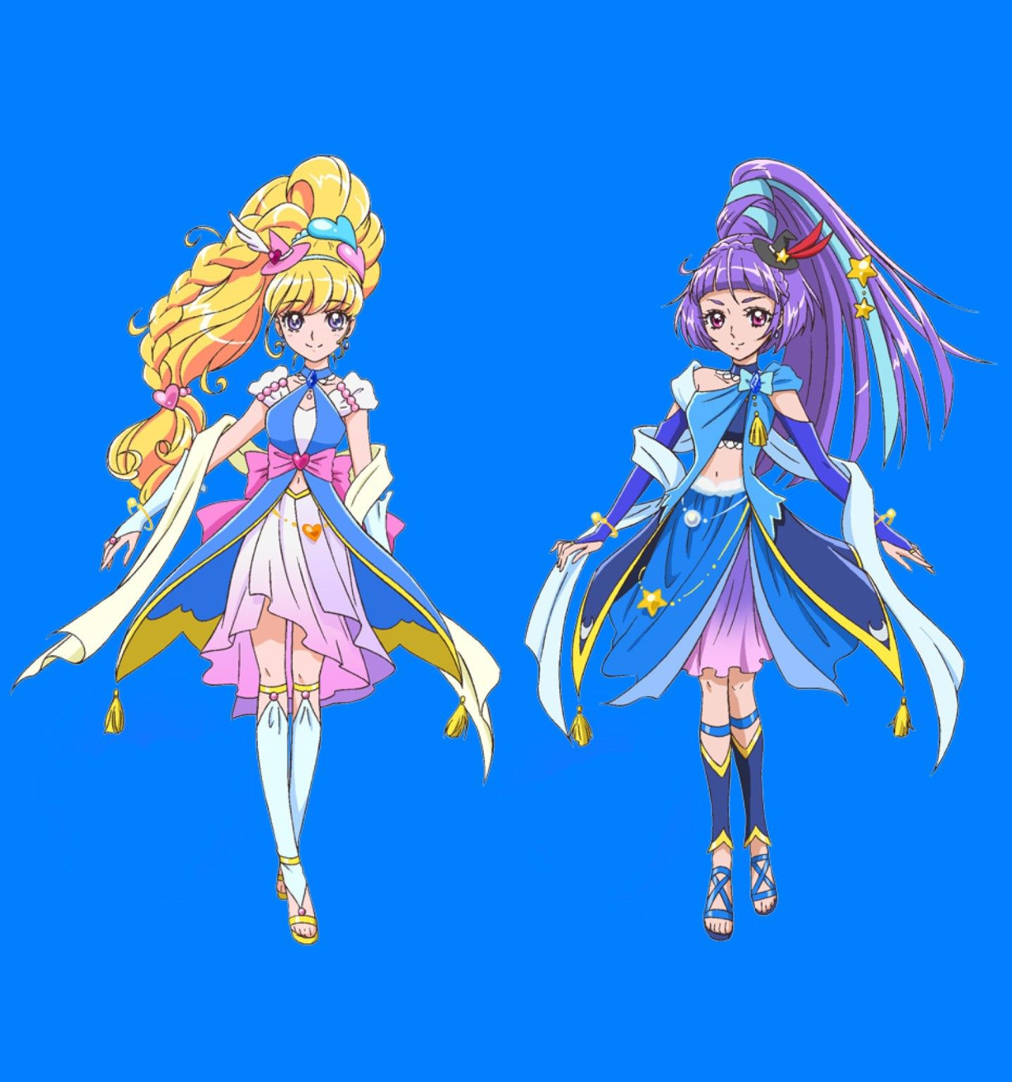 Maho Girls Precure Sapphire Style プリキュア
