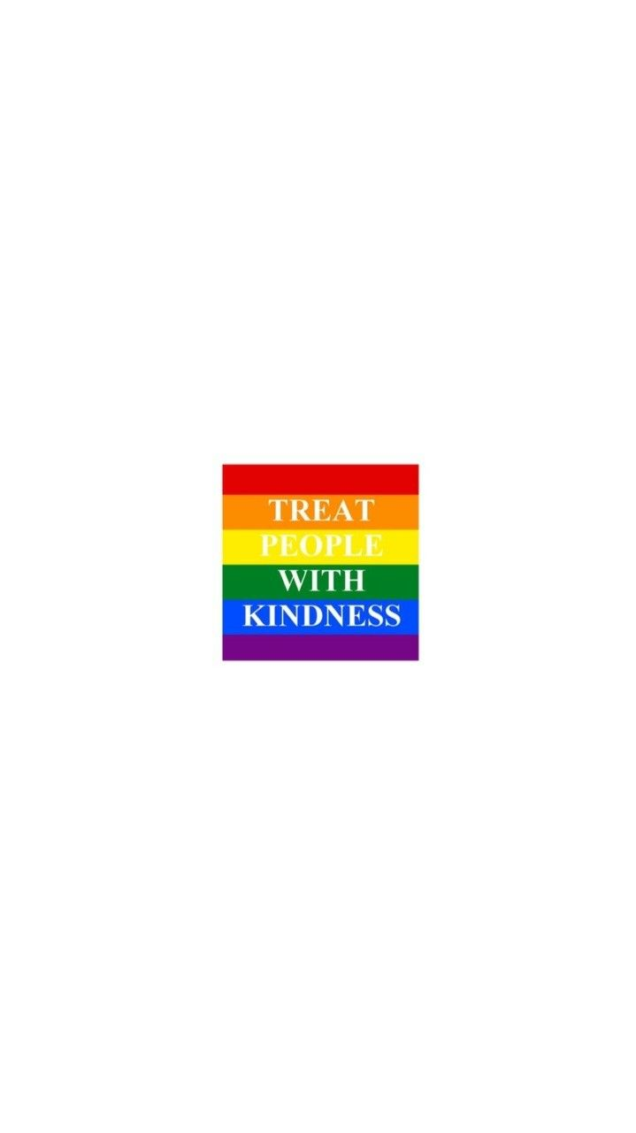 pin | lindaagrobler ♡ Rainbow Wallpaper, Treat People With Kindness, Harry Styles Wallpaper,