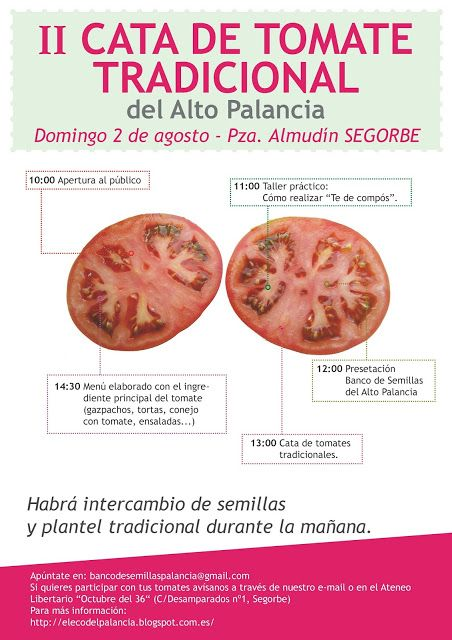 II Cata de tomate tradicional del Alto Palancia