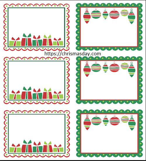 Editable Christmas Labels.Free Editable Christmas Labels Free Editable Christmas