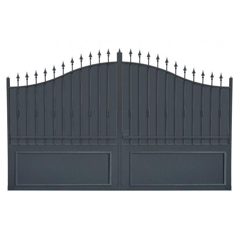 Portail cloture fer, portail fer et portail fer coulissant et - portail de maison en fer