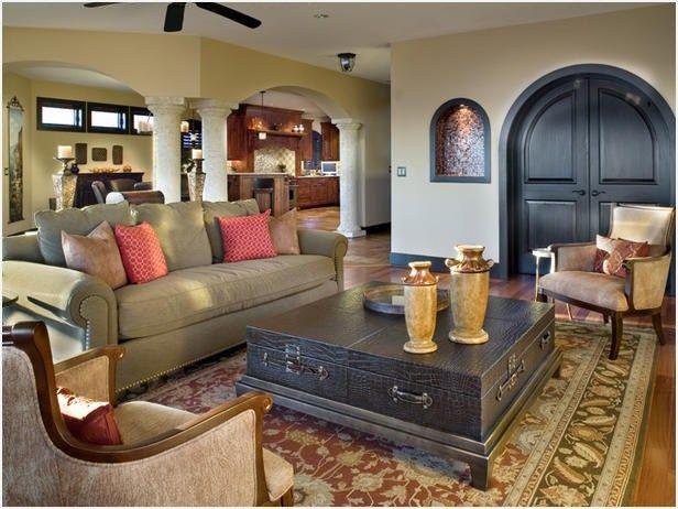 43 Perfect Mediterranean Style Living Room Mediterranean Living Rooms Rustic Home Interiors Mediterranean Decor