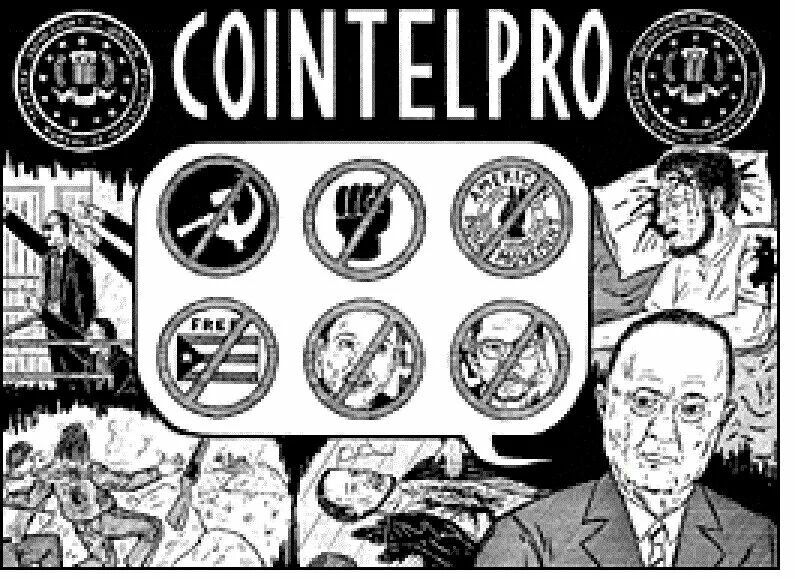 COINTELPRO (an acronym for COunter INTELligence PROgram) was