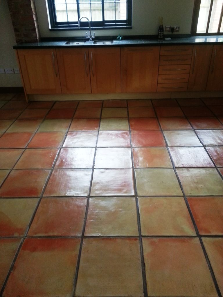 Due to its naturally high porosity terracotta is more susceptible dull terracotta tiles restored in great gransden dailygadgetfo Images