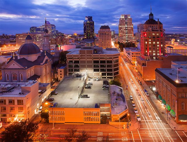 View of midtown Sacramento...stunning!