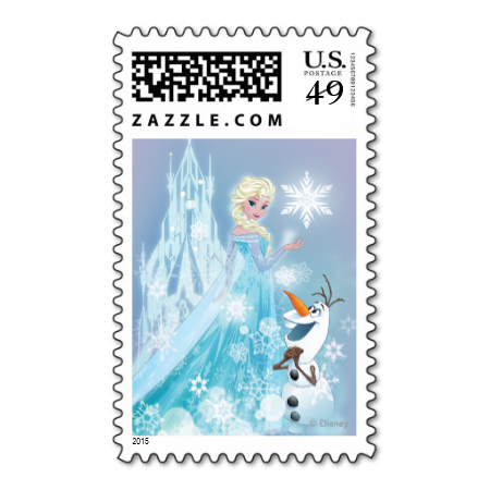 Elsa and Olaf - Icy Glow Stamp