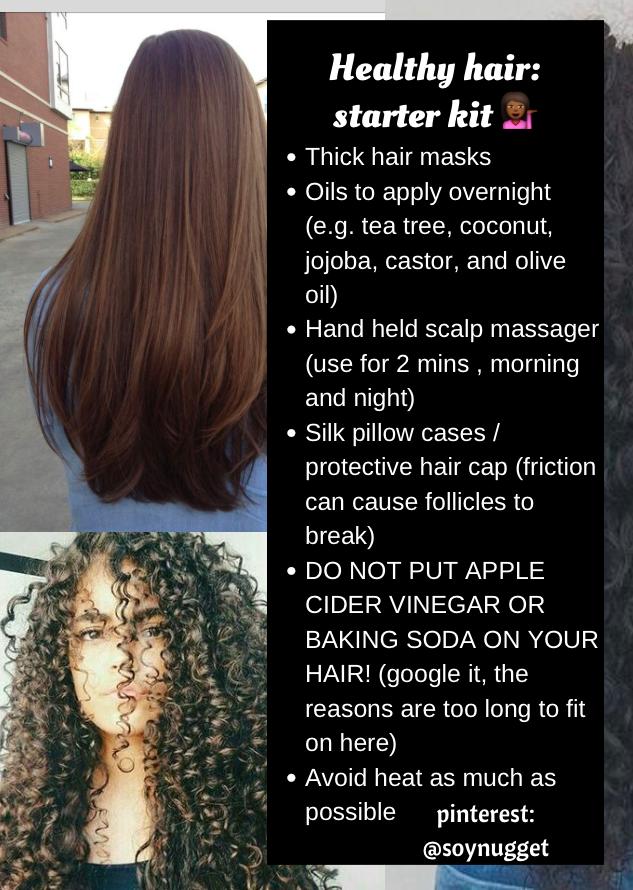 Soynugget healthy hair starter kit tips tricks