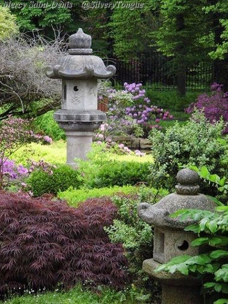 Japanese garden one of my favorite genres of garden for Lanterne jardin japonais