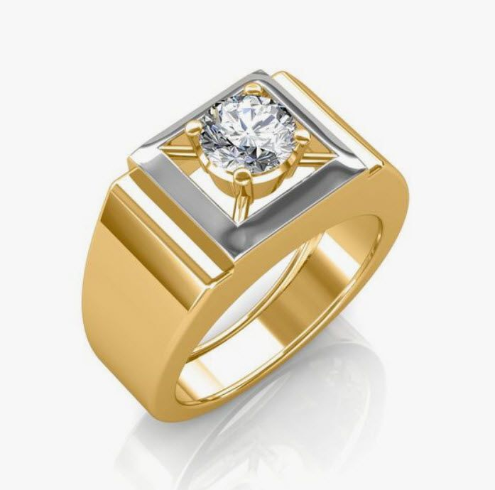 Should I Buy 18k 14k Or 10k Gold Men Diamond Ring Gold Ring Designs Mens Wedding Rings Gold