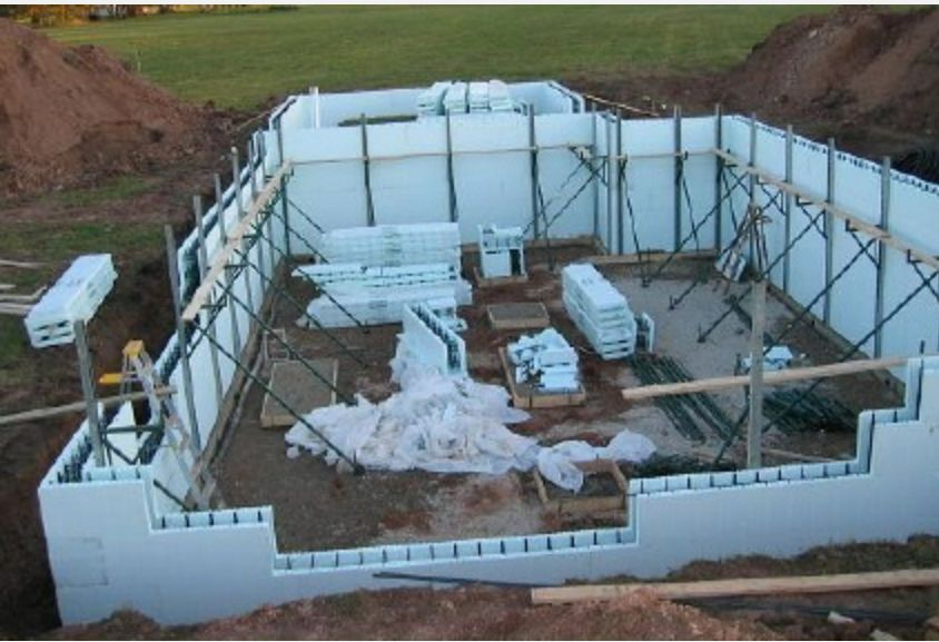 Pin By Zach Gold On Vt House In 2020 Insulated Concrete Forms Concrete Forms Concrete Houses