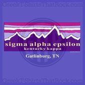 Sigma Alpha Epsilon sunset mountains Bid Day Recruitment and Rush Shirts Cal     Sigma Alpha Epsilon sunset mountains Bid Day Recruitment and Rush Shirts Cal  ...