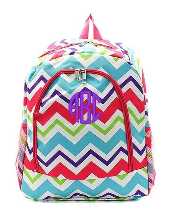 "Personalized 17"" Full Size Backpack Bookbag School Tote Bag"