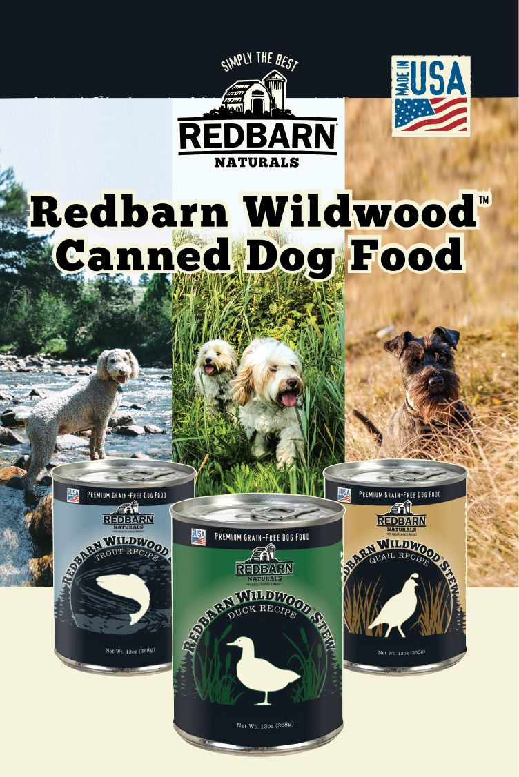 Enjoy Exciting New Canned Flavors With Redbarn S Wildwood Stews Dog Food Reviews Wet Dog Food Pets