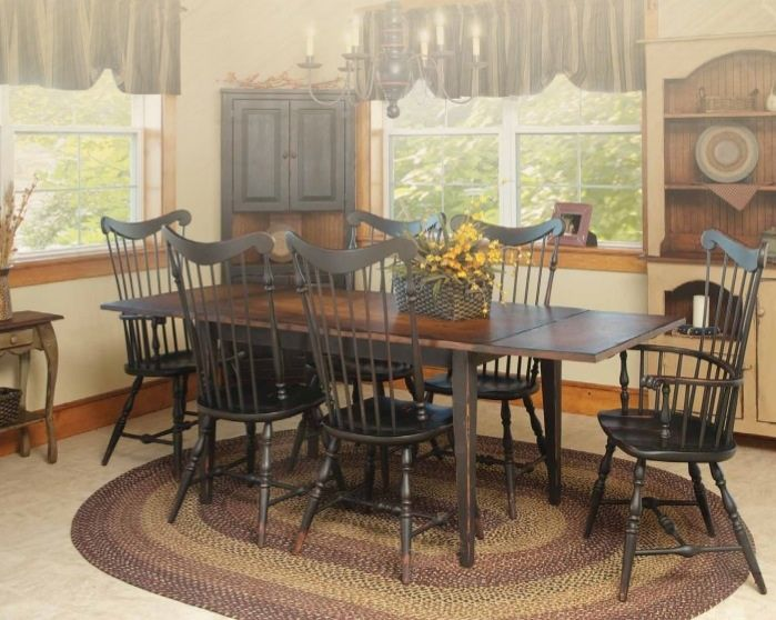 Vintage Creations By Sam Lancaster Pa Amish Furniture Farm Table