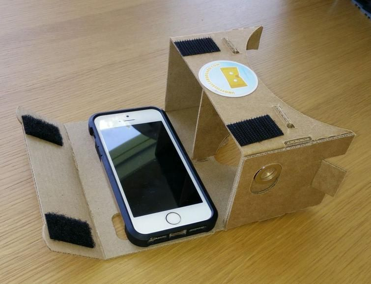 Use The Google Cardboard Vr Headset With An Iphone Multimedia