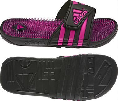 <UL>  <li>The kids' adissage Slides by adidas take all the plush comfort of the adult slide and size it down for kids. They have the easy on-and-off synthetic strap and the TPR footbed with toe-tantalizing massage nubs.</li>  <li>Details</li>  <li>  PVC-free synthetic bandage and lining</li>  <li>  TPR footbed with massage nubs for amazing comfort</li>  <li>  Non-marking PU outsole for durability</li>  <li>  Imported</li>  </ul>