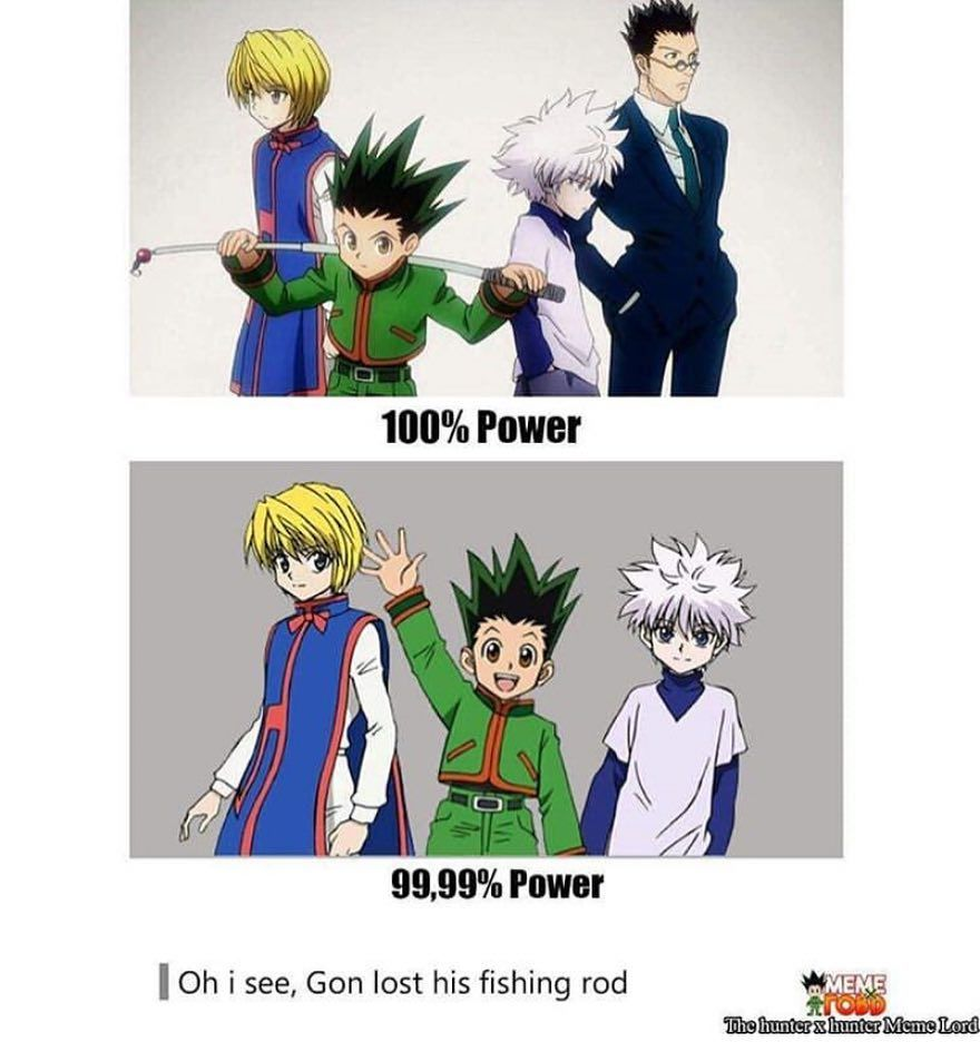 Cute Killua Zoldyck Hunter X Hunter Funny Meme Manga Baka Otaku