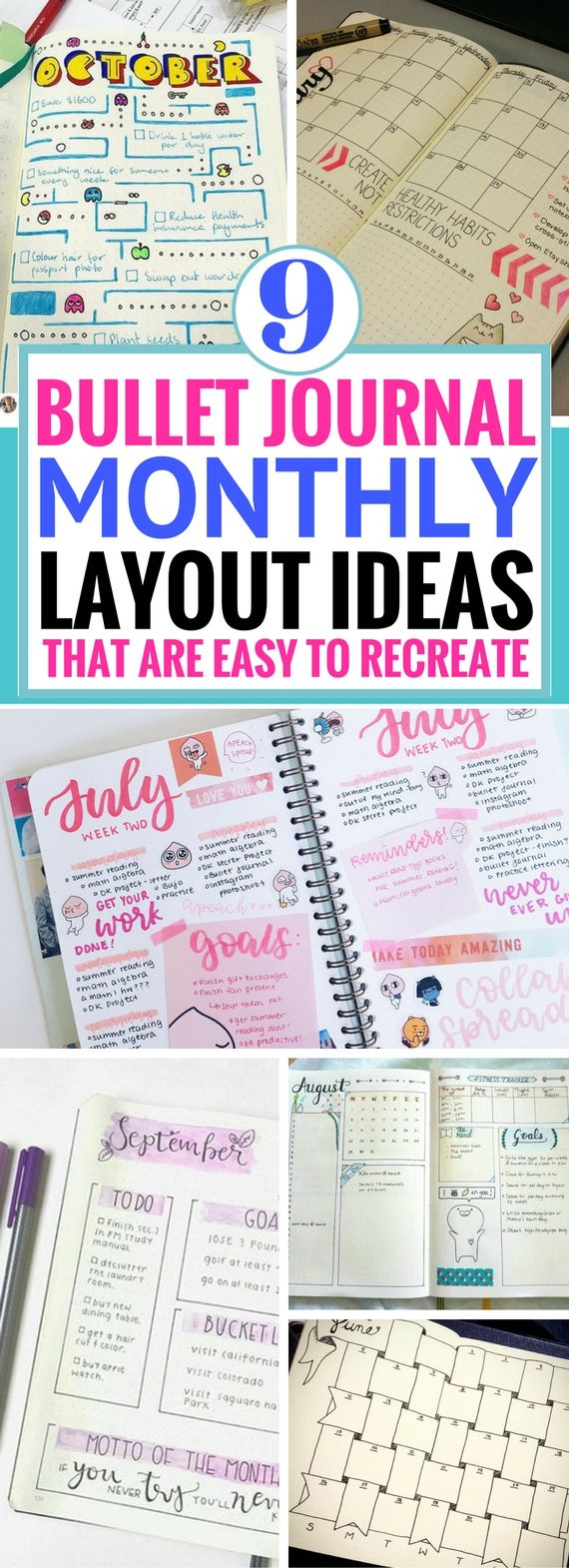 9 bullet journal monthly spread ideas worth coping organizadores 9 bullet journal monthly spread ideas worth coping solutioingenieria Choice Image