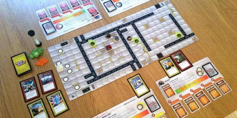 Board game review: Robo Rally is bot-programming chaos