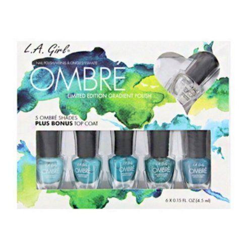 LA GIRL Ombre Limited Edition Gradient Polish Set - Spring Fling - Spring Fling L.A. Girl