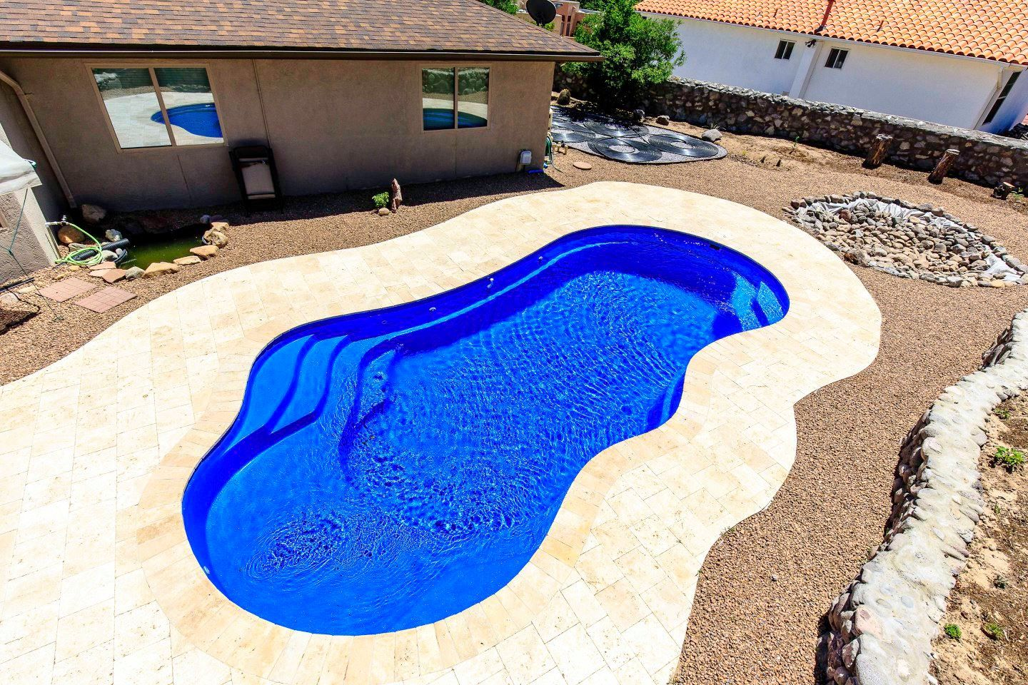 The Imagine Pools Fantasy Composite Swimming Pool Has An Inviting