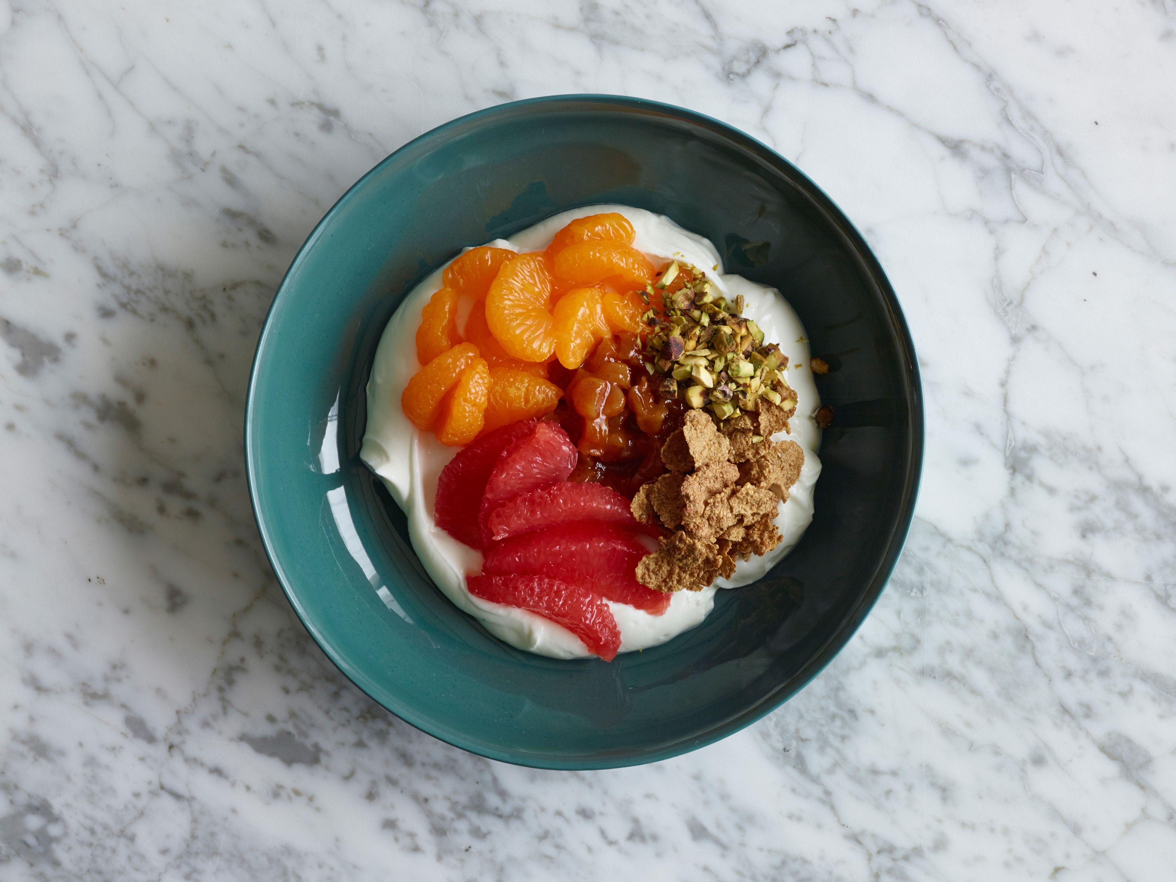 Tropical Greek Yogurt Breakfast Bowl Recipe || Food Network Kitchen