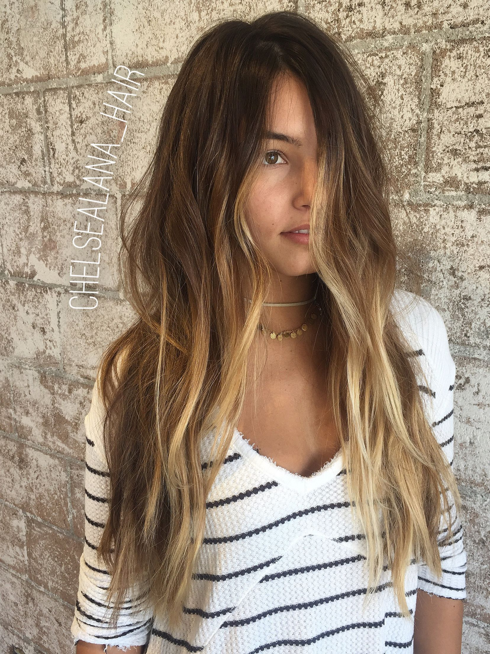 Natural highlights.   Hair   Pinterest   Frisur und Haar