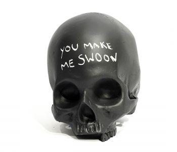 Chalkboard Skull | Black