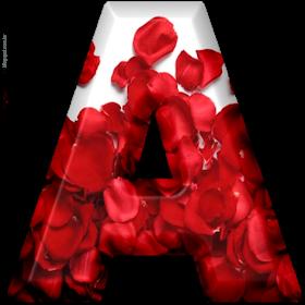 Alphabets By Monica Michielin Petalas De Rosas Alfabeto Png Vol 1 Petals Alphabet Alphabet Wallpaper Paper Art Design Stylish Alphabets