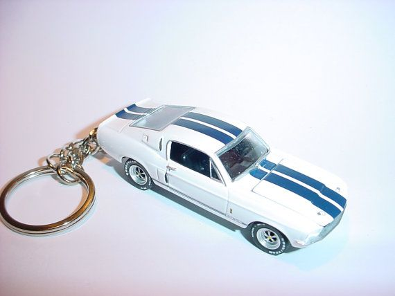 3d 1967 Ford Mustang Shelby Gt500 Eleanor Custom Keychain By Brian