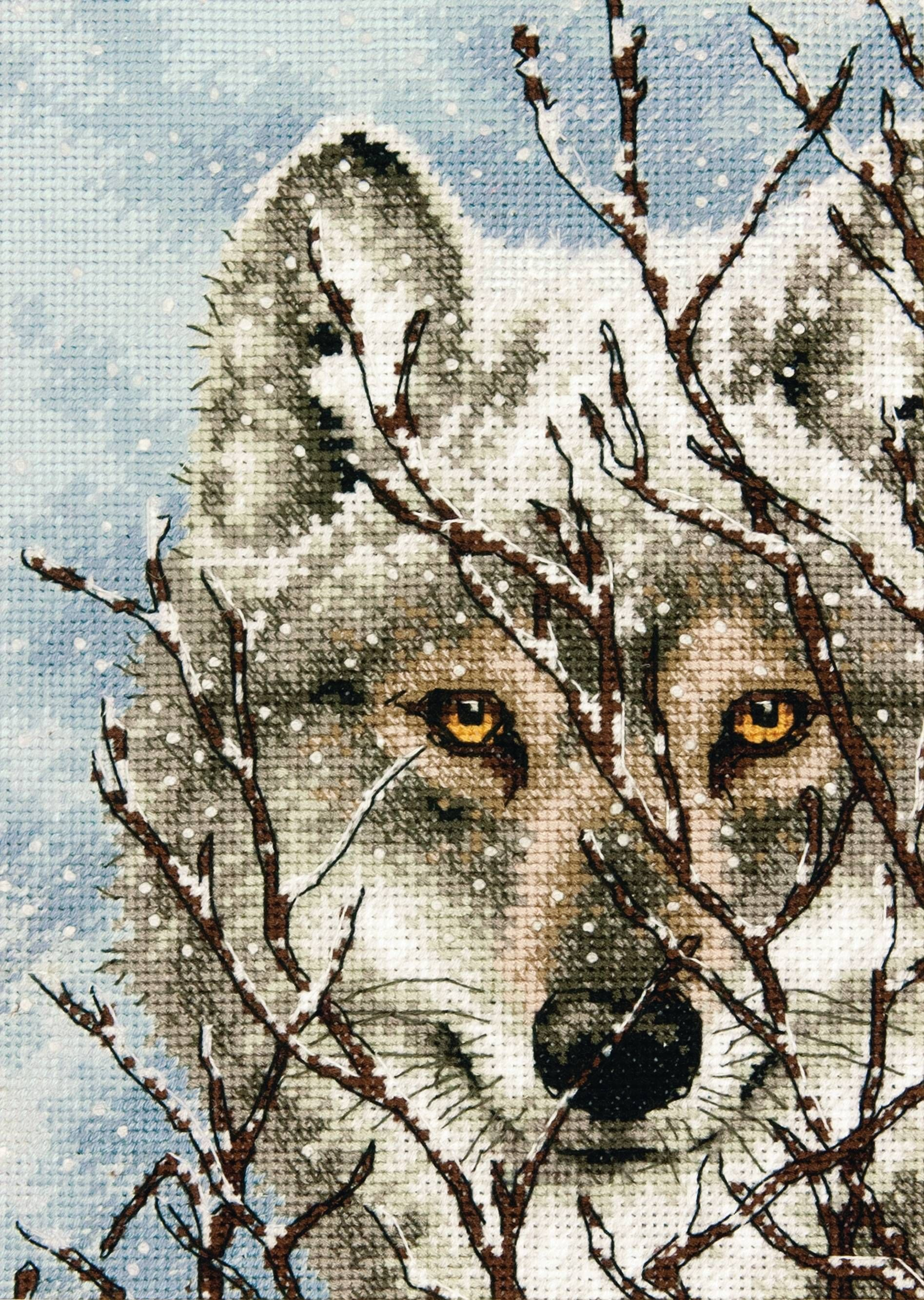 Loyal Indian And Wolf Religion Cross Stitch Fabric 14ct Counted Cross-stitch Kits Patterns Sets Chinese Embroidery Needlework Diy Gift Arts,crafts & Sewing