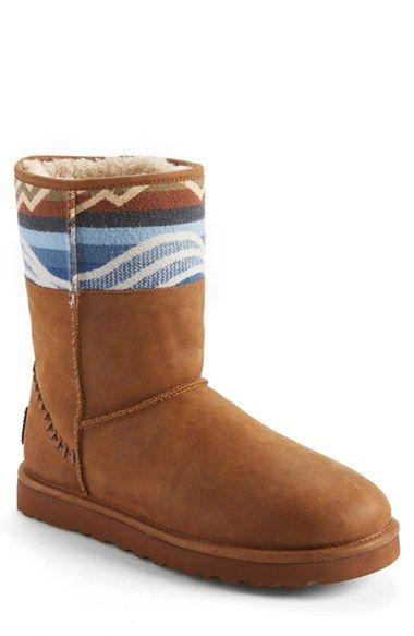 Ugg Classic Short Pendleton Boot Men Ugg Classic Short Boots Uggs