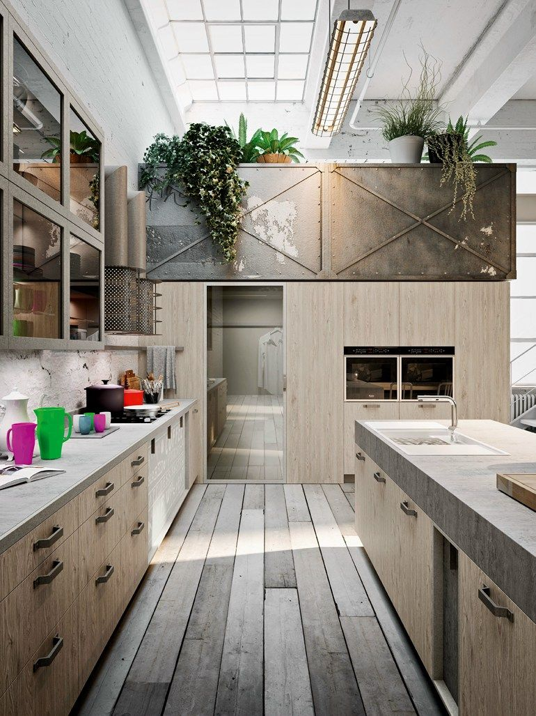 Linear #kitchen with island CODE EVOLUTION by Snaidero ...