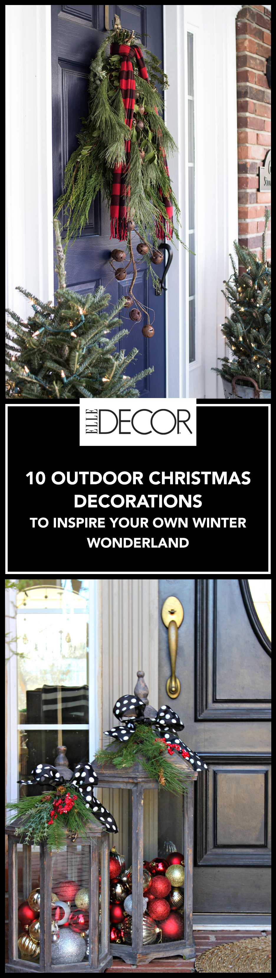 10 Outdoor Christmas Decorations To Inspire Your Own Winter Wonderland