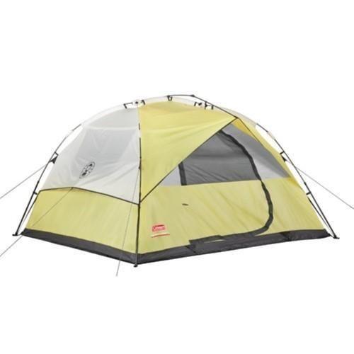 Coleman Instant 7x7 Foot Dome 3 Tent Yellow/Tan 2000024692  sc 1 st  Pinterest & Coleman Instant 7x7 Foot Dome 3 Tent Yellow/Tan 2000024692 ...