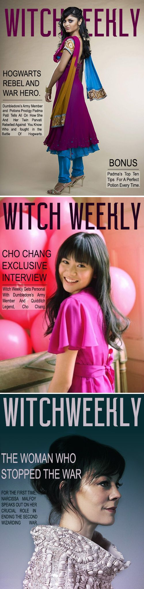 Witch Weekly Covers #hp